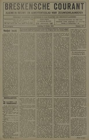 Breskensche Courant 1924-10-18