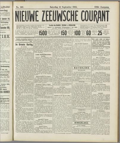Nieuwe Zeeuwsche Courant 1915-09-11