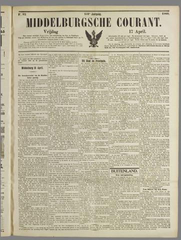 Middelburgsche Courant 1908-04-17