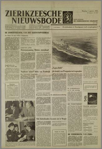 Zierikzeesche Nieuwsbode 1963-08-05