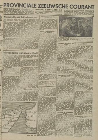 Provinciale Zeeuwse Courant 1943-09-06