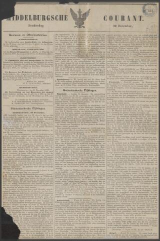 Middelburgsche Courant 1852-12-30