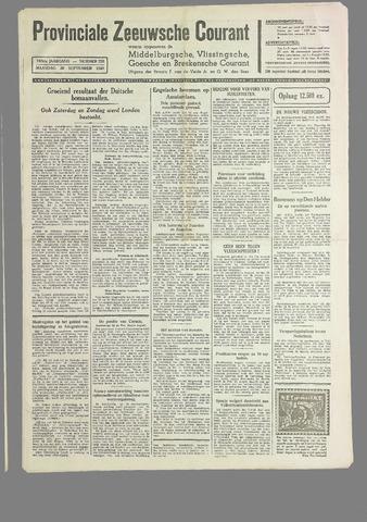 Provinciale Zeeuwse Courant 1940-09-30