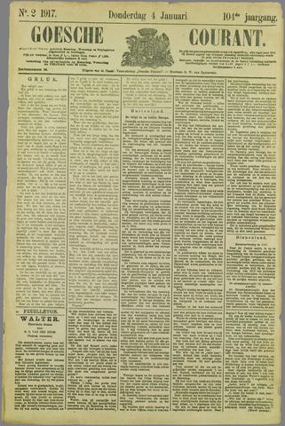 Goessche Courant 1917-01-04