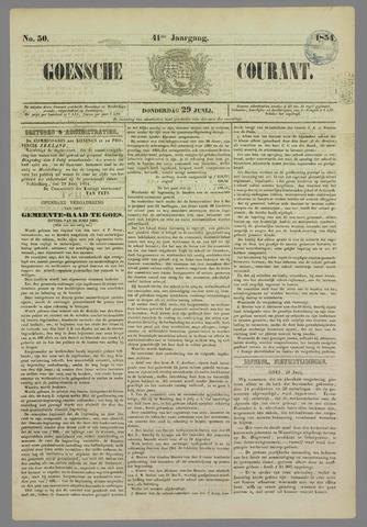 Goessche Courant 1854-06-29