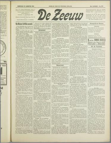 De Zeeuw. Christelijk-historisch nieuwsblad voor Zeeland 1934-08-23