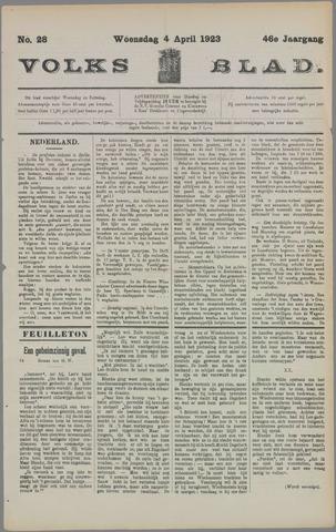 Volksblad 1923-04-04