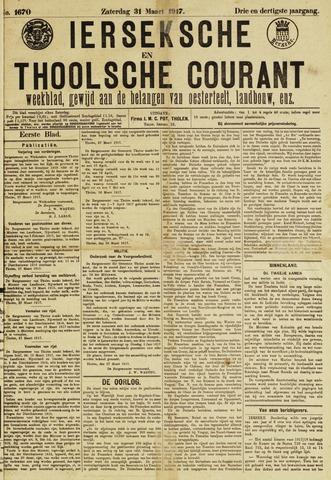 Ierseksche en Thoolsche Courant 1917-03-31