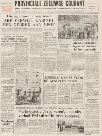 Provinciale Zeeuwse Courant 1971-09-27
