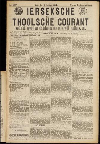 Ierseksche en Thoolsche Courant 1917-10-06