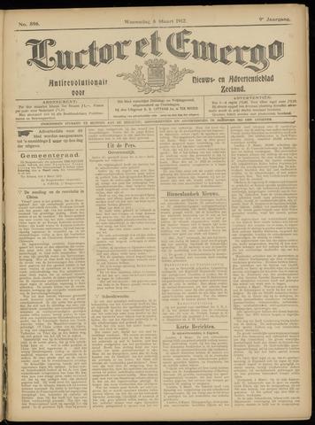 Luctor et Emergo. Antirevolutionair nieuws- en advertentieblad voor Zeeland / Zeeuwsch-Vlaanderen. Orgaan ter verspreiding van de christelijke beginselen in Zeeuwsch-Vlaanderen 1912-03-06
