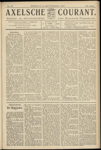 Axelsche Courant 1934-09-18