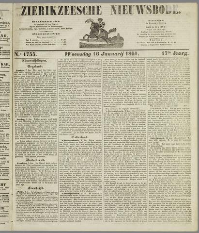 Zierikzeesche Nieuwsbode 1861-01-16