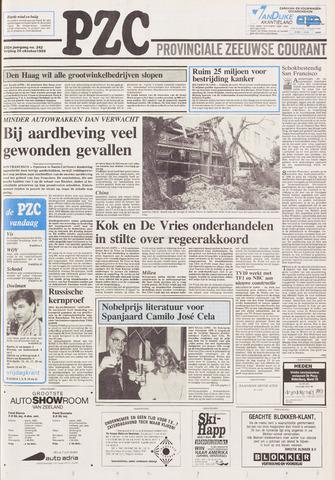 Provinciale Zeeuwse Courant 1989-10-20