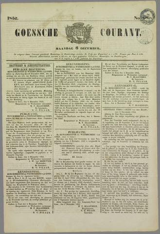 Goessche Courant 1852-12-06