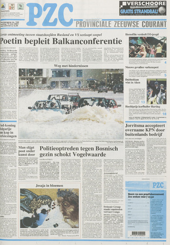 Provinciale Zeeuwse Courant 2001-06-18