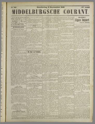 Middelburgsche Courant 1919-09-04