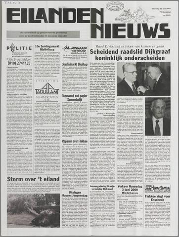 Eilanden-nieuws. Christelijk streekblad op gereformeerde grondslag 2000-05-30