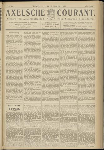 Axelsche Courant 1931-09-01