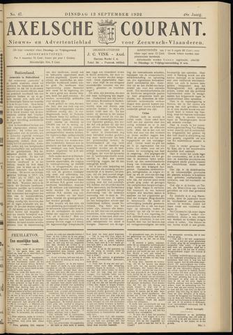 Axelsche Courant 1932-09-13