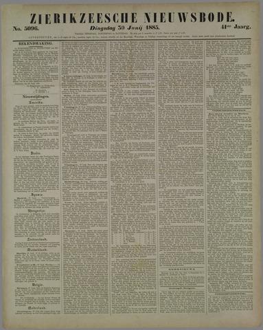 Zierikzeesche Nieuwsbode 1885-06-30