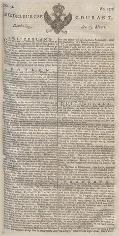 Middelburgsche Courant 1777-03-13