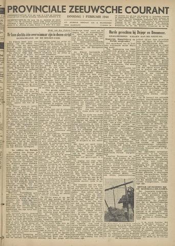 Provinciale Zeeuwse Courant 1944-02-01