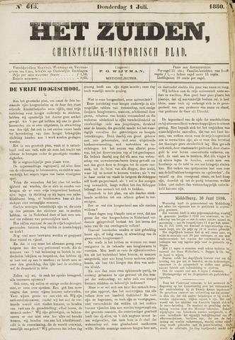 Het Zuiden, Christelijk-historisch blad 1880-07-01