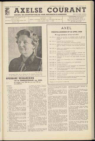 Axelsche Courant 1968-04-27