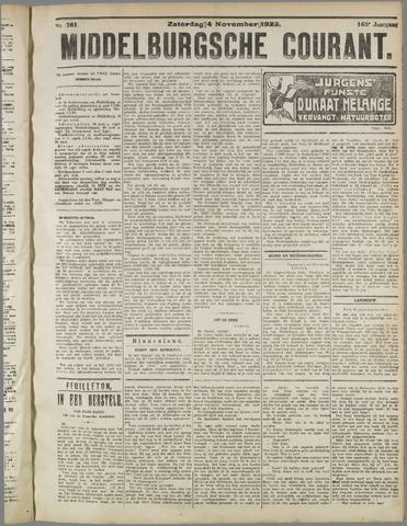 Middelburgsche Courant 1922-11-04