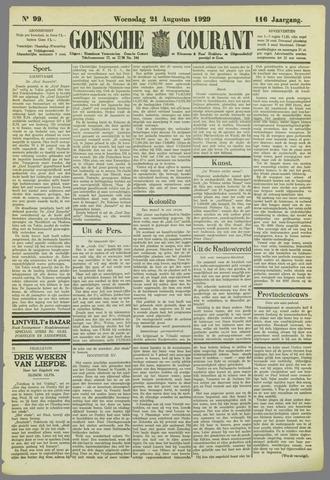 Goessche Courant 1929-08-21
