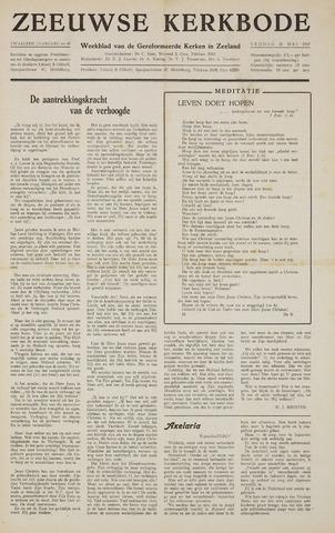 Zeeuwsche kerkbode, weekblad gewijd aan de belangen der gereformeerde kerken/ Zeeuwsch kerkblad 1957-05-31