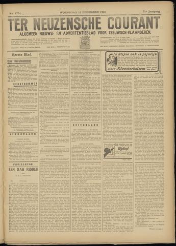 Ter Neuzensche Courant. Algemeen Nieuws- en Advertentieblad voor Zeeuwsch-Vlaanderen / Neuzensche Courant ... (idem) / (Algemeen) nieuws en advertentieblad voor Zeeuwsch-Vlaanderen 1931-12-16