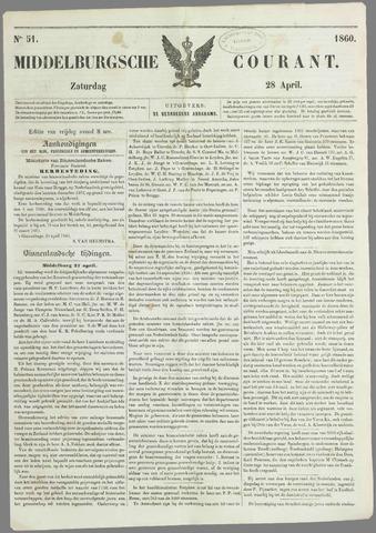 Middelburgsche Courant 1860-04-28