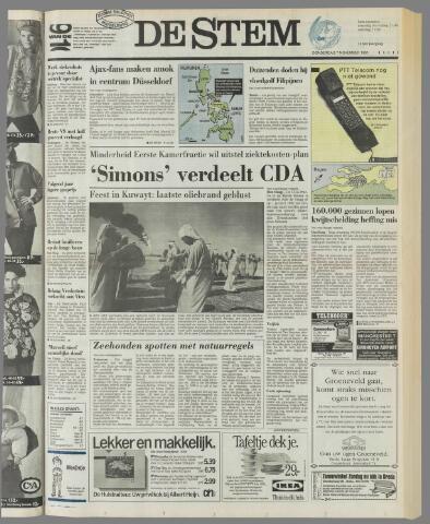 de Stem 1991-11-07