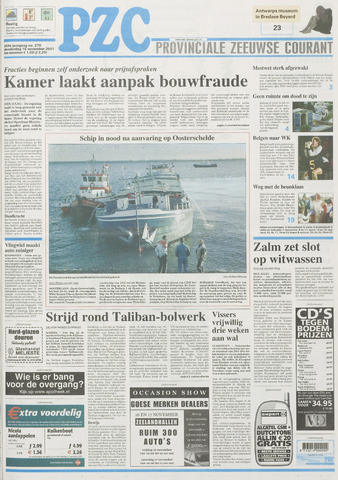 Provinciale Zeeuwse Courant 2001-11-15