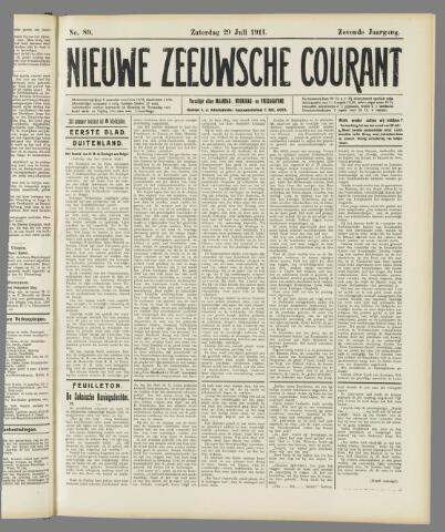 Nieuwe Zeeuwsche Courant 1911-07-29