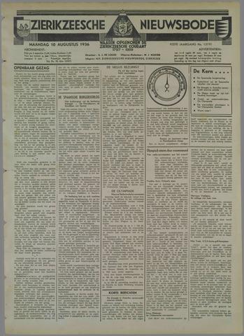 Zierikzeesche Nieuwsbode 1936-08-10