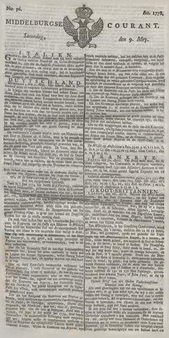 Middelburgsche Courant 1778-05-09