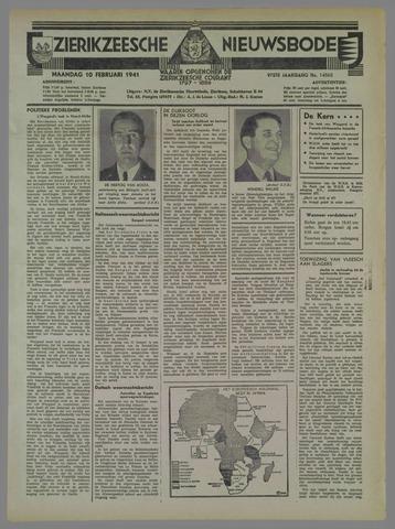 Zierikzeesche Nieuwsbode 1941-02-10