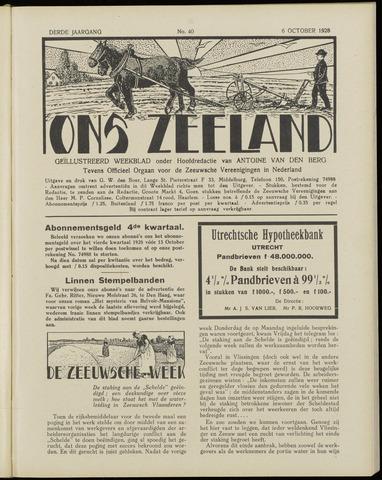 Ons Zeeland / Zeeuwsche editie 1928-10-06