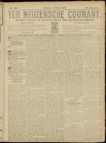 Ter Neuzensche Courant. Algemeen Nieuws- en Advertentieblad voor Zeeuwsch-Vlaanderen / Neuzensche Courant ... (idem) / (Algemeen) nieuws en advertentieblad voor Zeeuwsch-Vlaanderen 1919-03-11
