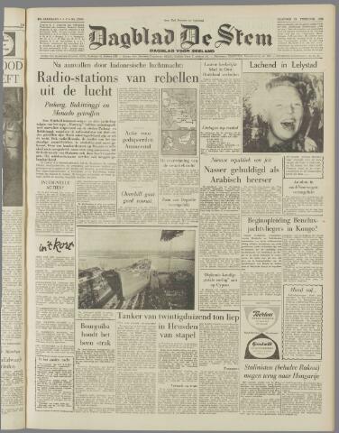de Stem 1958-02-24