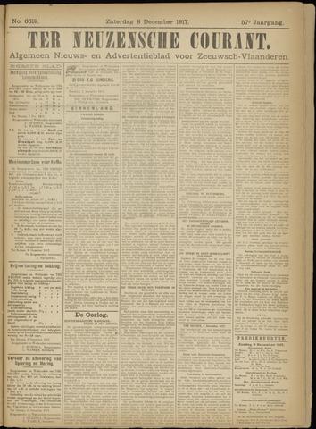 Ter Neuzensche Courant. Algemeen Nieuws- en Advertentieblad voor Zeeuwsch-Vlaanderen / Neuzensche Courant ... (idem) / (Algemeen) nieuws en advertentieblad voor Zeeuwsch-Vlaanderen 1917-12-08
