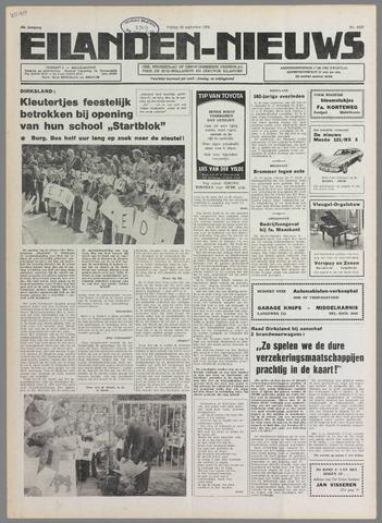 Eilanden-nieuws. Christelijk streekblad op gereformeerde grondslag 1976-09-24