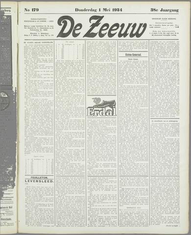 De Zeeuw. Christelijk-historisch nieuwsblad voor Zeeland 1924-05-01