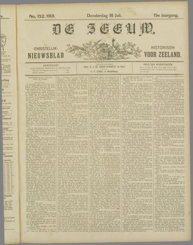 De Zeeuw. Christelijk-historisch nieuwsblad voor Zeeland 1901-07-18