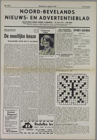 Noord-Bevelands Nieuws- en advertentieblad 1982-08-05