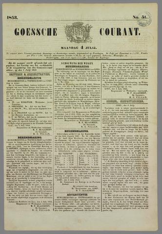 Goessche Courant 1853-07-04