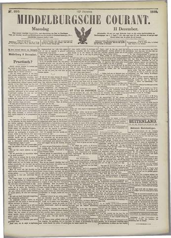 Middelburgsche Courant 1899-12-11
